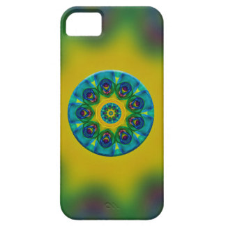 Rainbow Mandala Fractal Art Case For iPhone 5/5S