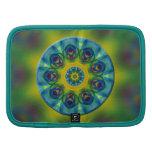 Rainbow Mandala Fractal Art Folio Planner