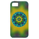 Rainbow Mandala Fractal Art iPhone 5 Case