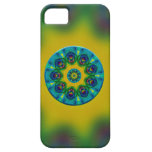 Rainbow Mandala Fractal Art iPhone 5 Cases