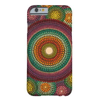 Rainbow Mandala Hand Painted Barely There iPhone 6 Case