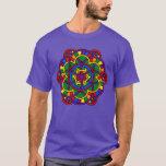 Rainbow Mandala LGBT Pride Flag Colors T-Shirt