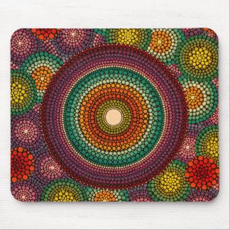 Rainbow Mandala Mousepad
