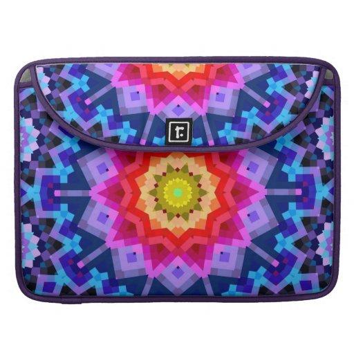 Rainbow Mandala Sleeve For MacBooks