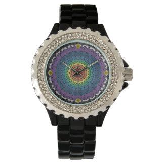 Rainbow Mandala Watch 3