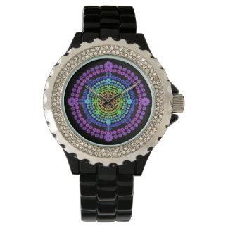 Rainbow Mandala Watch 4