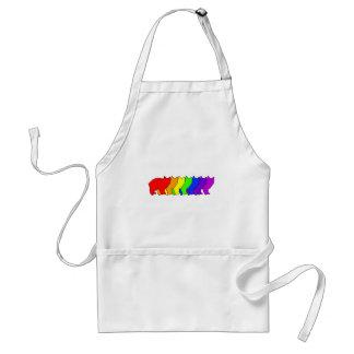 Rainbow Manx Adult Apron