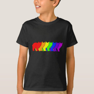 Rainbow Manx T-Shirt