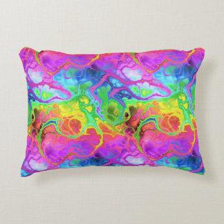 Rainbow Marble Accent Cushion