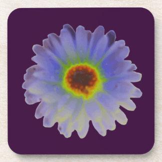 Rainbow Marigold Cork Coaster