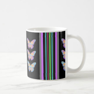 Rainbow Marissa Black Gifts by Sharles Coffee Mug