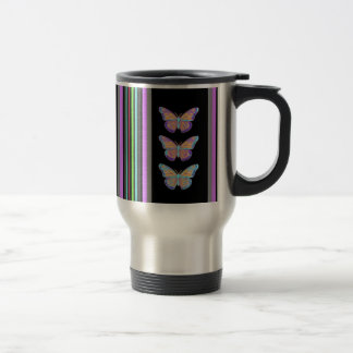 Rainbow Marissa Black Gifts by Sharles Travel Mug