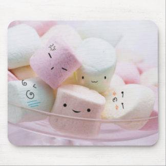 Rainbow Marshmallows Mouse Pad