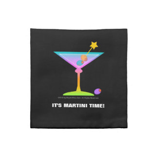Rainbow Martini American MoJo Napkin