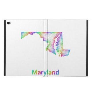 Rainbow Maryland map Powis iPad Air 2 Case
