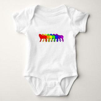 Rainbow Mastiff T Shirt