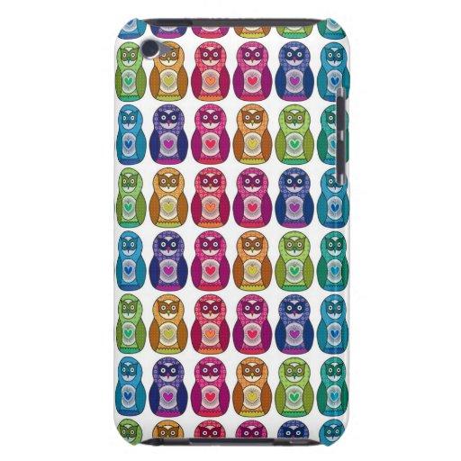 Rainbow Matryoshka Owls iPod Touch Covers
