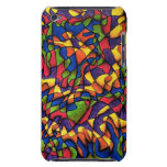 Rainbow Maze Barely There iPod Cases