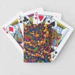 Rainbow Maze Bicycle Poker Cards