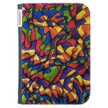 Rainbow Maze Kindle Keyboard Cases