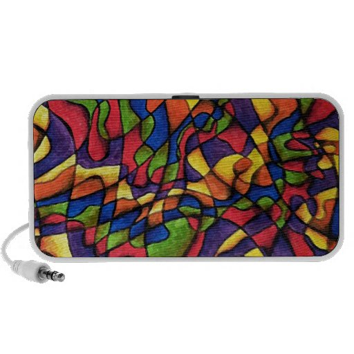 Rainbow Maze Travelling Speaker