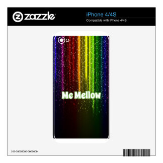 Rainbow McMellow merchandise Skins For iPhone 4S