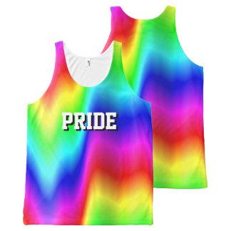 Rainbow Meltdown Pride All-Over Print Tank Top