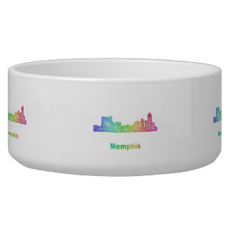 Rainbow Memphis skyline Bowl