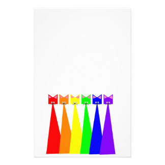 Rainbow Meows Stationery