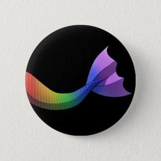 Rainbow Mermaid Tail V2 Button