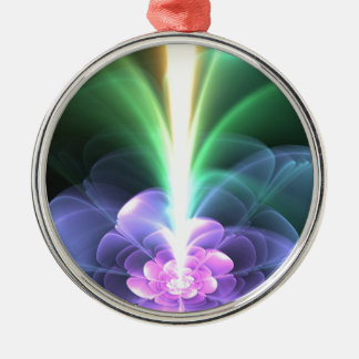 Rainbow Metal Ornament
