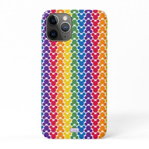 Rainbow Mickey Icon Pattern iPhone 11 Pro Case