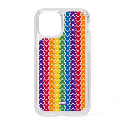 Rainbow Mickey Icon Pattern Speck iPhone 11 Pro Case