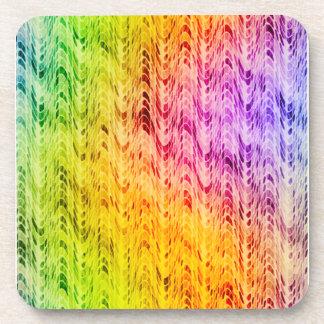 Rainbow Microwaves Coaster