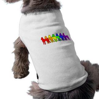 Rainbow Min Pin T-Shirt