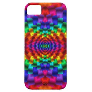 Rainbow Mind Warp Psychedelic Fractal iPhone 5 Case