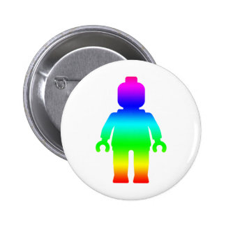Rainbow Minifig by Customize My Minifig Buttons