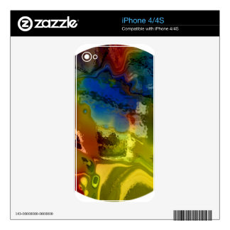 Rainbow mix 1 skins for iPhone 4S