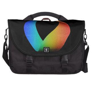 Rainbow Mobius Strip Commuter Bags