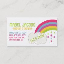 RAINBOW MOMMY CARD
