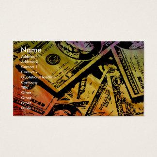 Rainbow Money Business/Profile Card2 Business Card
