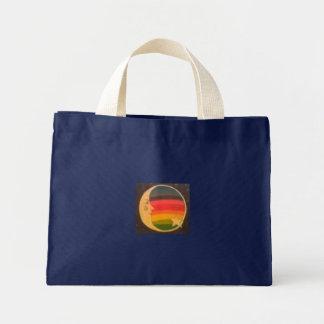 Rainbow Moon Dark Tote Bag