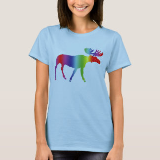 Rainbow Moose T-Shirt