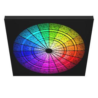 Rainbow Mosaic Canvas Print