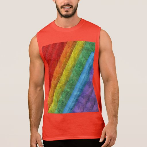 rainbow mosaic gay pride flag sleeveless t shirt zazzle. Black Bedroom Furniture Sets. Home Design Ideas