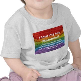 Rainbow Mosaic Gay Pride Flag T Shirts