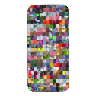 Rainbow Mosaic iPhone SE/5/5s Cover