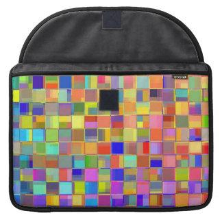 Rainbow Mosaic MacBook Pro Sleeves