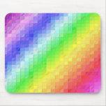 Rainbow Mosaic Mouse Pad