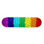 Rainbow Mosaic Skate Board Decks